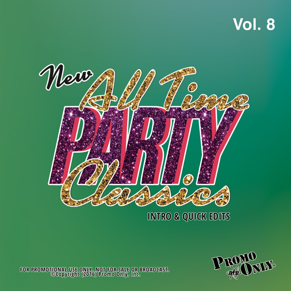 New All Time Party Classics - Intro Edits Volume 8 Album Cover
