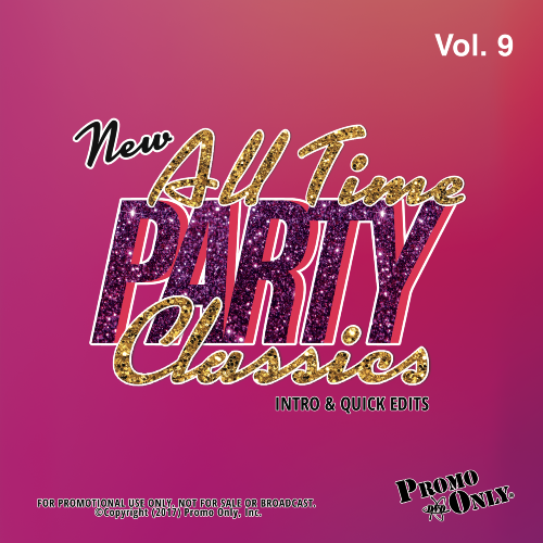 New All Time Party Classics - Intro Edits Volume 9 Album Cover