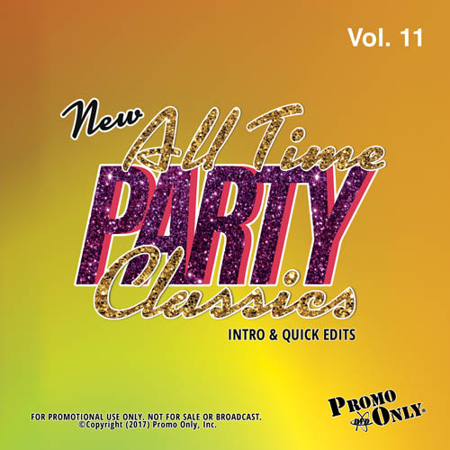 New All Time Party Classics - Intro Edits Volume 11 Album Cover
