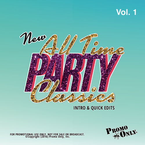 New All Time Party Classics - Intro Edits Volume 1 Album Cover