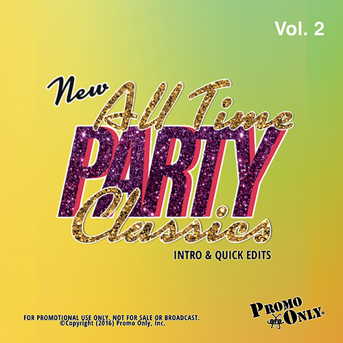 New All Time Party Classics - Intro Edits Volume 2 Album Cover