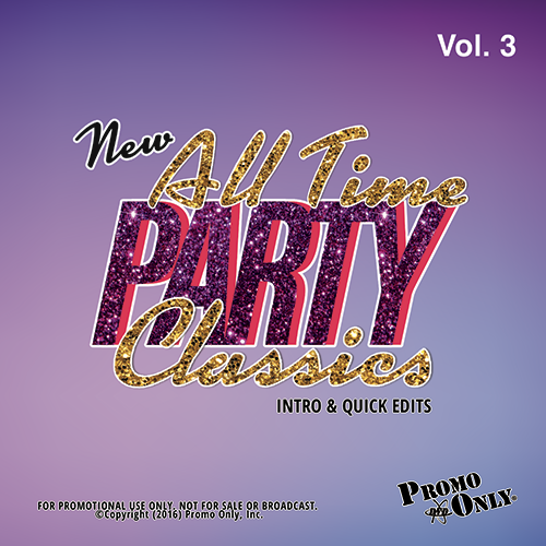 New All Time Party Classics - Intro Edits Volume 3 Album Cover