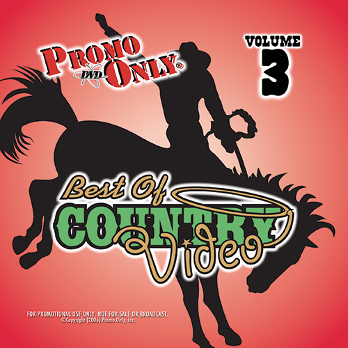 Best Of Country Video Vol. 3 Album Cover