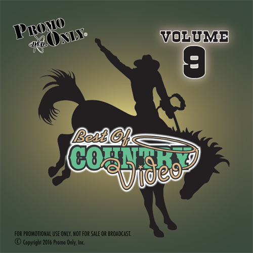 Best Of Country Video Vol. 9 Album Cover