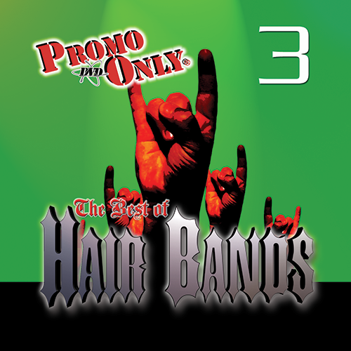 Best Of Hair Bands Vol. 3 Album Cover