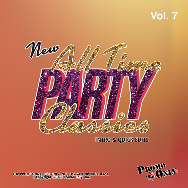 New All Time Party Classics - Intro Edits Volume 7 Album Cover