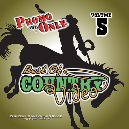 Best Of Country Video Vol. 5 Album Cover