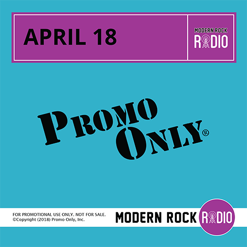 Modern Rock April, 2018 Album Cover