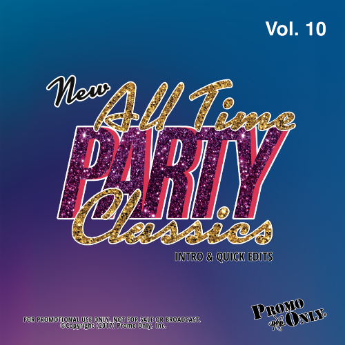 New All Time Party Classics - Intro Edits Volume 10 Album Cover
