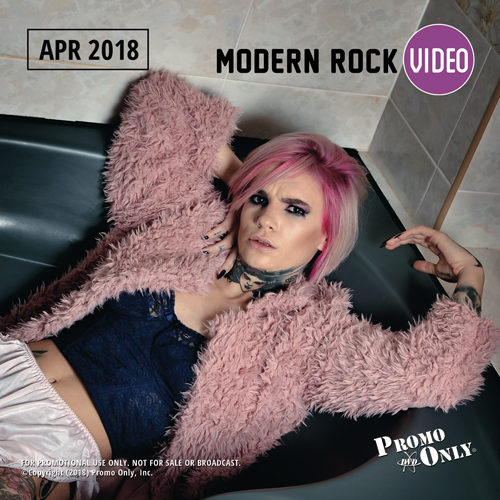 Modern Rock Video April, 2018 Album Cover