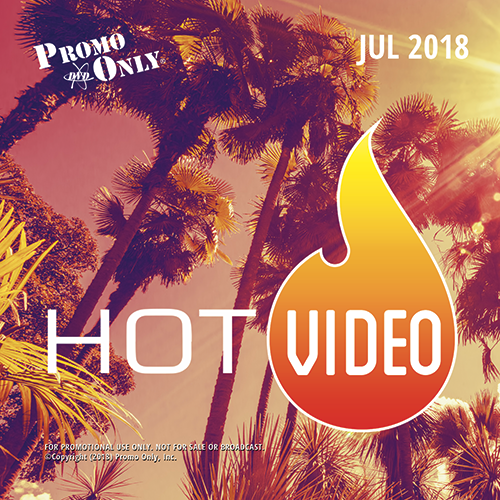 Hot Video July, 2018 Album Cover