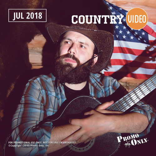 Country Video July, 2018 Album Cover