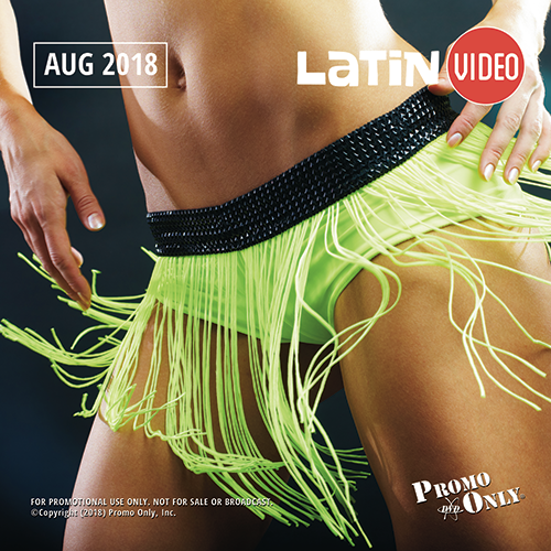 Latin Video August, 2018 Album Cover
