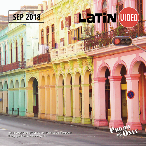 Latin Video September, 2018 Album Cover