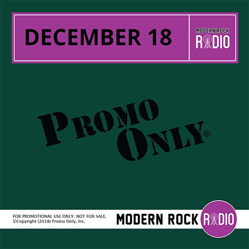 Modern Rock December, 2018 Album Cover