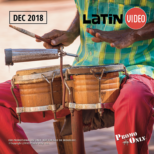 Latin Video December, 2018 Album Cover
