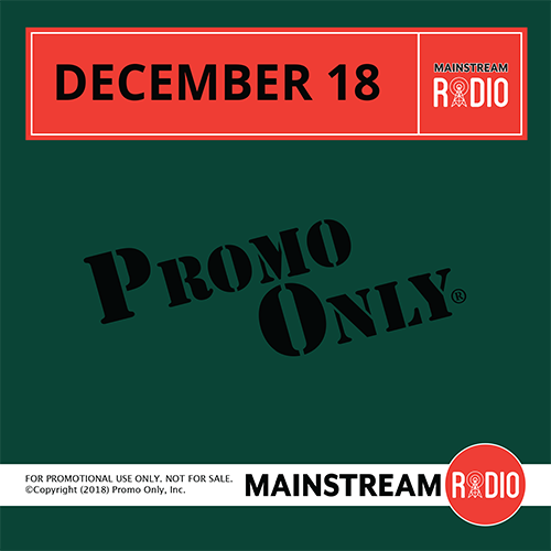 Mainstream Radio December, 2018 Album Cover