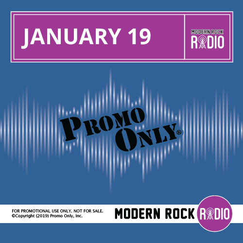 Modern Rock January, 2019 Album Cover