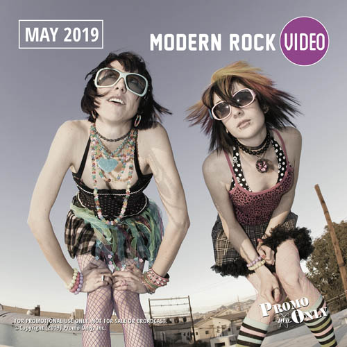 Modern Rock Video May, 2019 Album Cover