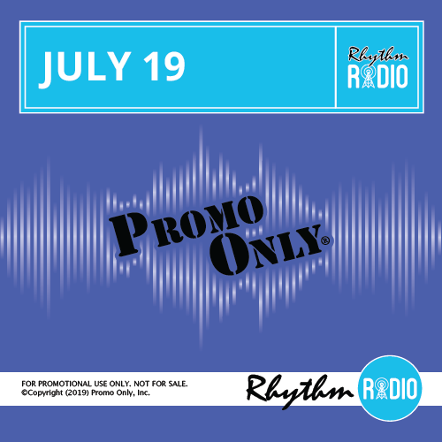 Rhythm Radio July, 2019 Album Cover