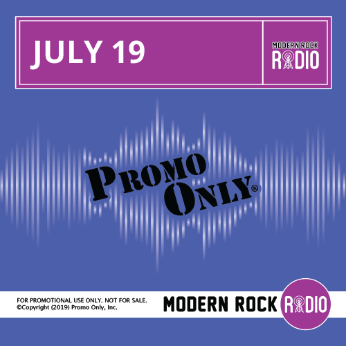 Modern Rock July, 2019 Album Cover