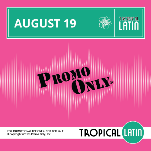 Tropical Latin August, 2019 Album Cover