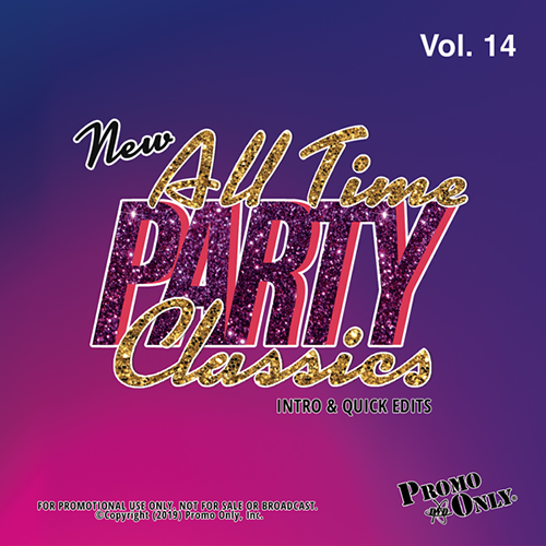 New All Time Party Classics - Intro Edits Volume 14 Album Cover
