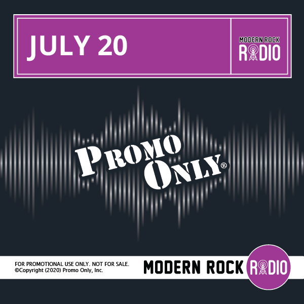 Modern Rock July, 2020 Album Cover