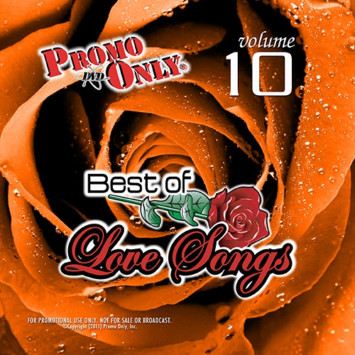 Best Of Love Songs Vol. 10 Album Cover